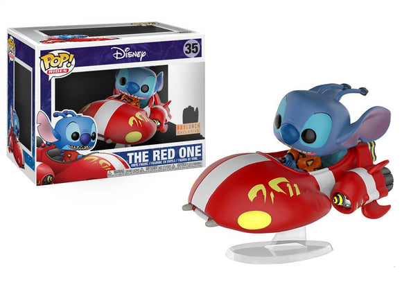 Pop! Rides: Lilo & Stitch - The Red One (Box Lunch Exclusive) - Mom's Basement Collectibles