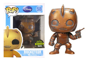 Pop! Disney - The Rocketeer [Patina] (Gemini Exclusive) - Mom's Basement Collectibles