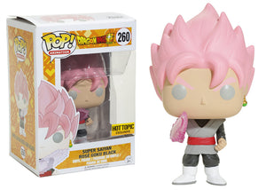 Pop! Animation: Dragon Ball Super - Super Saiyan Rose Goku Black (Hot Topic Exclusive) - Mom's Basement Collectibles