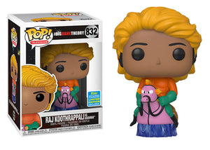 Pop! Television: The Big Bang Theory - Raj Koothrappali [Aquaman] (Summer Convention Exclusive 2019) - Mom's Basement Collectibles