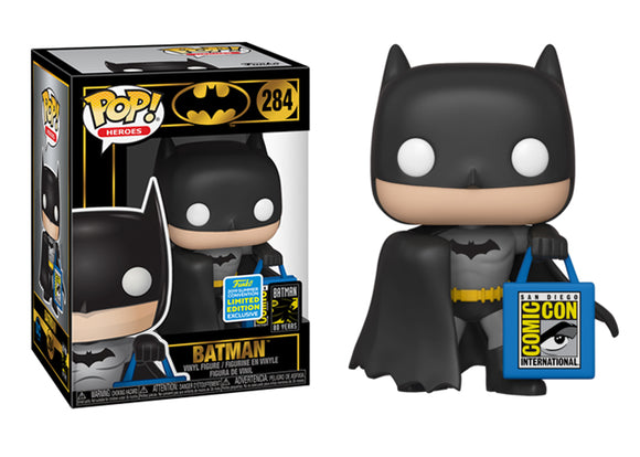 Pop! Heroes: Batman 80 Years - Batman [With SDCC Bag] (Summer Convention Exclusive 2019) - Mom's Basement Collectibles