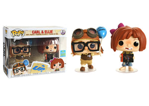 Pop! Disney: Up - Carl & Ellie 2 Pack (Summer Convention Exclusive 2019) - Mom's Basement Collectibles