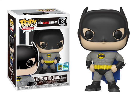 Pop! Television: The Big Bang Theory - Howard Wolowitz [Batman] (SDCC 2019) - Mom's Basement Collectibles