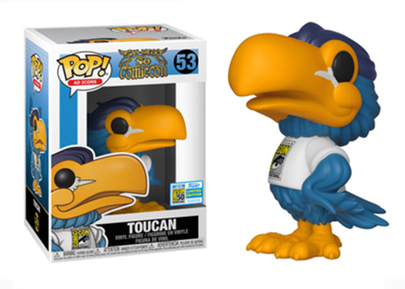 Pop! Ad Icons - Toucan (SDCC 2019) - Mom's Basement Collectibles