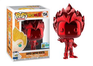 Pop! Animation: Dragon Ball Z - Vegeta [Red Chrome] (SDCC 2019) - Mom's Basement Collectibles