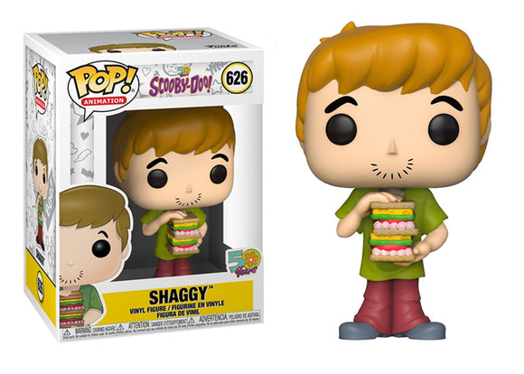 Pop! Animation: Scooby-Doo - Shaggy with Sandwich - Mom's Basement Collectibles