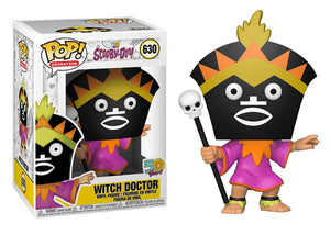 Pop! Animation: Scooby-Doo - Witch Doctor - Mom's Basement Collectibles