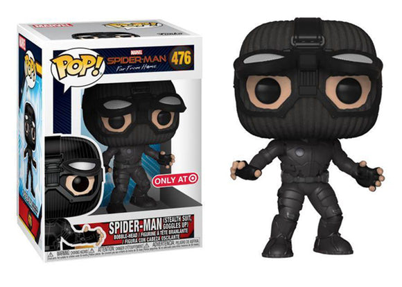 Pop! Marvel: Spider-Man: Far From Home - Spider-Man [Stealth] (Target Exclusive) - Mom's Basement Collectibles