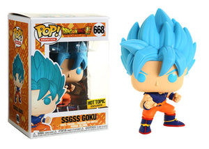 Pop! Animation: Dragon Ball Z - SSGSS Goku (Hot Topic Exclusive) - Mom's Basement Collectibles
