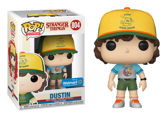 Pop! Television: Stranger Things - Dustin [Aracade Cat T-Shirt] (Walmart Exclusive) - Mom's Basement Collectibles