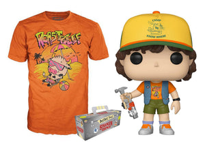 Pop! Television: Stranger Things - Dustin & Roast Beef T-Shirt [Large] (Target Exclusive) - Mom's Basement Collectibles