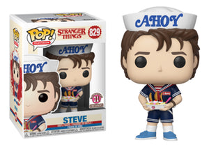 Pop! Television: Stranger Things - Steve [Ahoy!] (Baskin-Robbins Exclusive) - Mom's Basement Collectibles