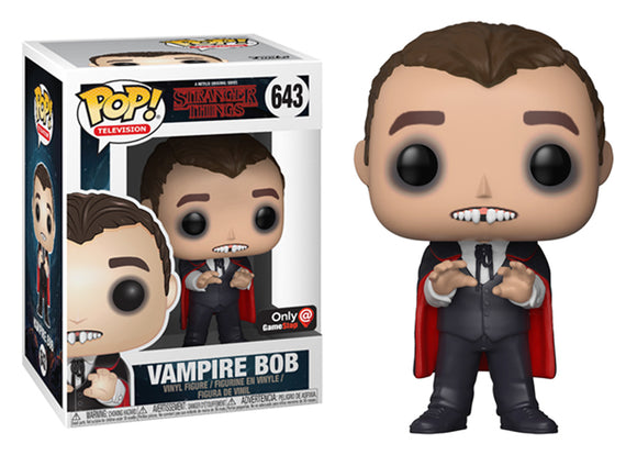 Pop! Television: Stranger Things - Vampire Bob (Gamestop Exclusive) - Mom's Basement Collectibles