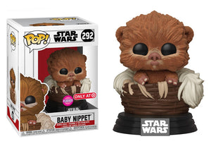 Pop! Star Wars - Baby Nippet [Flocked] (Target Exclusive) - Mom's Basement Collectibles