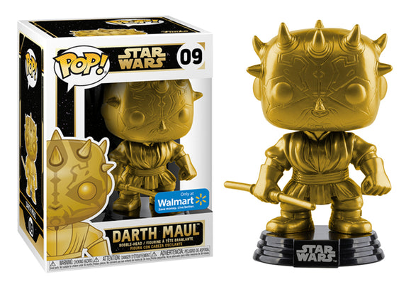 Pop! Star Wars - Darth Maul [Gold] (Walmart Exclusive) - Mom's Basement Collectibles