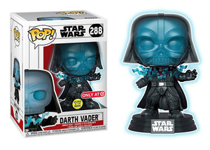 Pop! Star Wars - Darth Vader [Electrocuted] (Target Exclusive) - Mom's Basement Collectibles