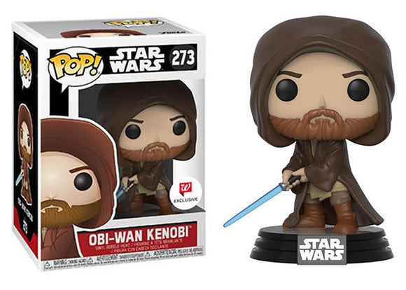 Pop! Star Wars - Obi-Wan Kenobi [Hooded] (Walgreens Exclusive) - Mom's Basement Collectibles