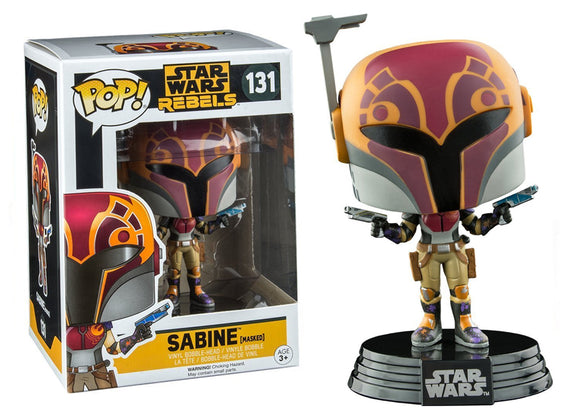 Pop! Star Wars - Sabine [Masked] (Walgreens Exclusive) - Mom's Basement Collectibles