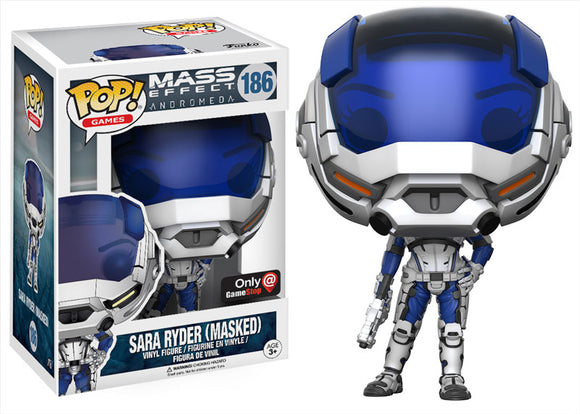 Pop! Games: Mass Effect Andromeda - Sara Ryder [Masked] (Gamestop Exclusive) - Mom's Basement Collectibles