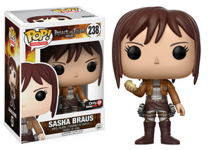 Pop! Animation: Attack On Titan - Sasha Braus (Gamestop Exclusive) - Mom's Basement Collectibles