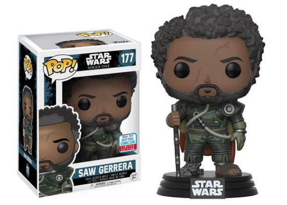 Pop! Star Wars - Saw Gerrera (Fall Convention Exclusive 2017) - Mom's Basement Collectibles