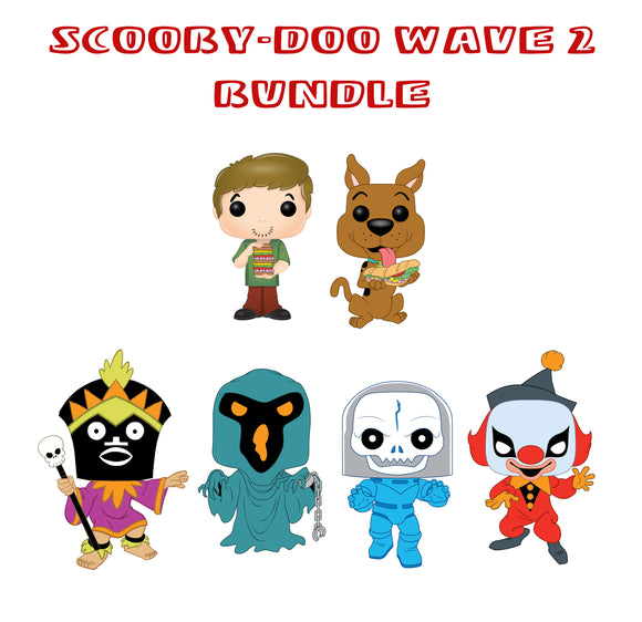 [PRE-ORDER] Bundle: Pop! Animation: Scooby-Doo Wave 2 - Mom's Basement Collectibles