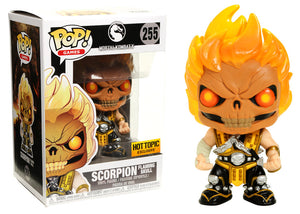 Pop! Games: Mortal Kombat X - Scorpion (Hot Topic Exclusive) - Mom's Basement Collectibles