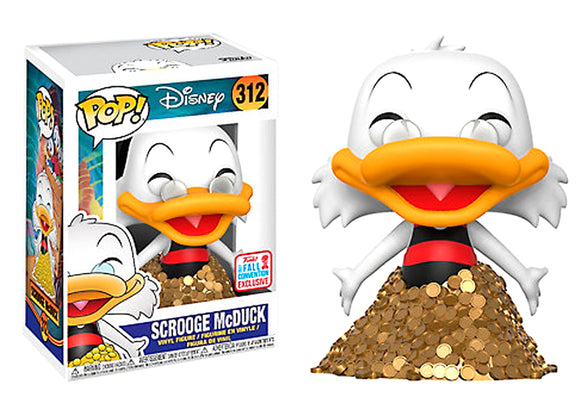 Pop! Disney - Scrooge McDuck (Fall Convention Exclusive 2017) - Mom's Basement Collectibles