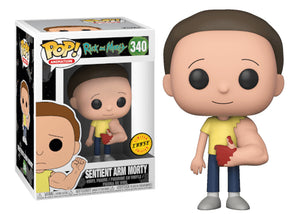 Pop! Animation: Rick and Morty - Sentient Arm Morty (Chase) - Mom's Basement Collectibles