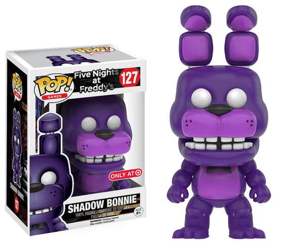 Pop! Games: Five Nights at Freddy's - Shadow Bonnie (Target Exclusive) - Mom's Basement Collectibles