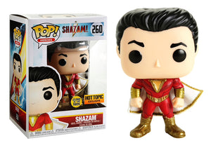 Pop! Heroes: Shazam! - Shazam [Glow In The Dark] (Hot Topic Exclusive) - Mom's Basement Collectibles