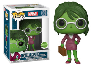 Pop! Marvel - She-Hulk (Spring Convention Exclusive 2018) - Mom's Basement Collectibles