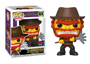 Pop! Television: The Simpsons - Evil Groundskeeper Willie (Fall Convention Exclusive 2019) - Mom's Basement Collectibles