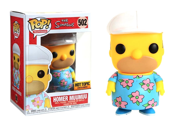 Pop! Television: The Simpsons - Homer Muumuu (Hot Topic Exclusive) - Mom's Basement Collectibles
