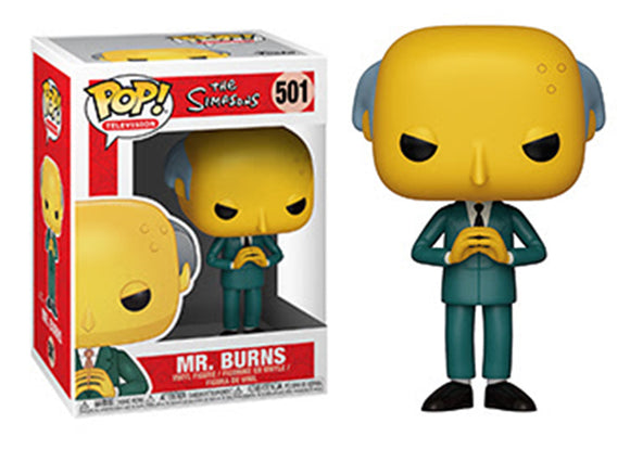 Pop! Animation: The Simpsons - Mr. Burns - Mom's Basement Collectibles