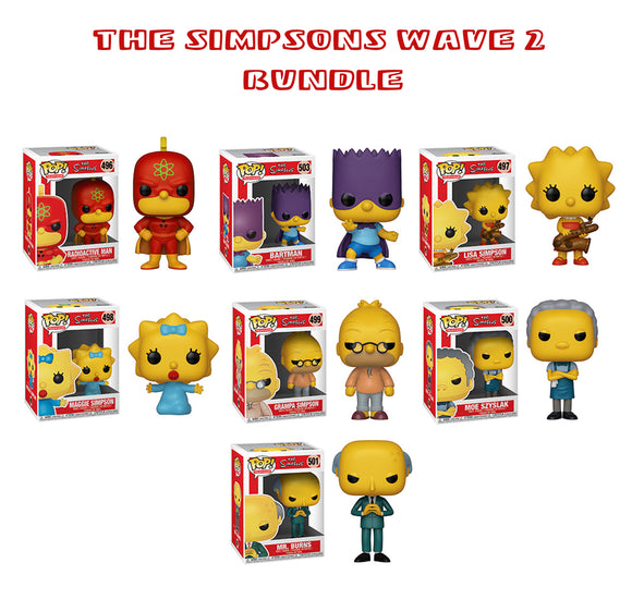 [PRE-ORDER] Bundle: Pop! Teleivision: The Simpsons Wave 2 Set - Mom's Basement Collectibles
