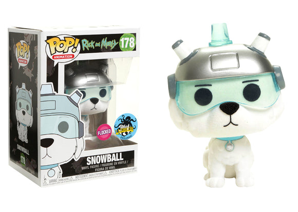 Pop! Animation: Rick and Morty - Snowball (LA Comic Con Exclusive 2017) - Mom's Basement Collectibles
