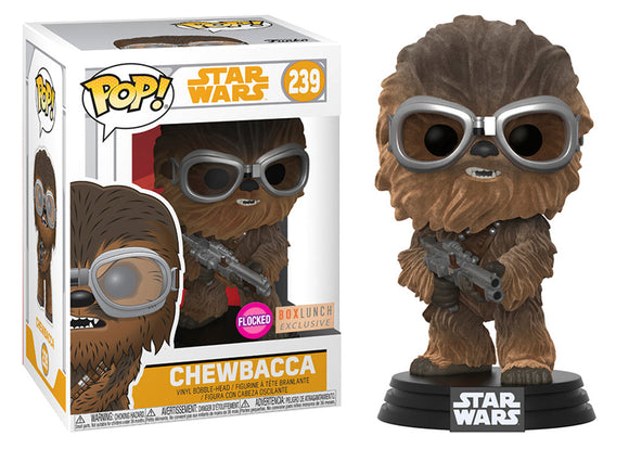 Pop! Star Wars: Solo - Chewbacca [Flocked] (Box Lunch Exclusive) - Mom's Basement Collectibles