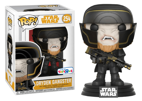 Pop! Star Wars: Solo - Dryden Gangster (Toys R Us Exclusive) - Mom's Basement Collectibles