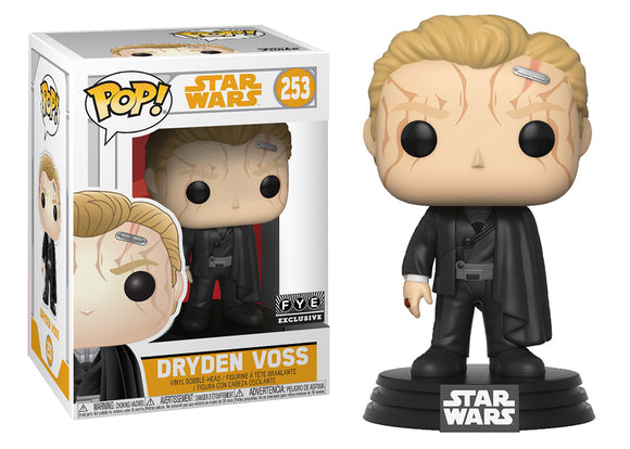 Pop! Star Wars: Solo - Dryden Voss (FYE Exclusive) - Mom's Basement Collectibles