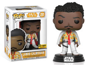 Pop! Star Wars: Solo - Lando Calrissian [White] (Hot Topic Exclusive) - Mom's Basement Collectibles