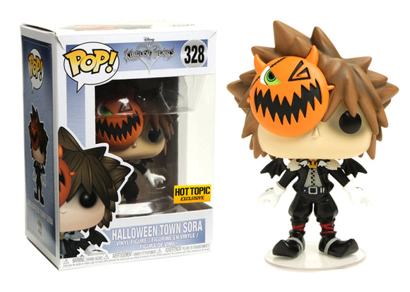 Pop! Disney: Kingdom Hearts - Halloween Town Sora (Hot Topic Exclusive) - Mom's Basement Collectibles