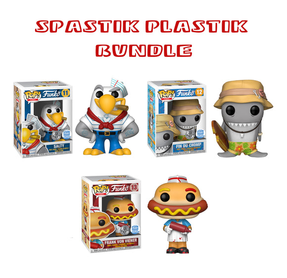 Bundle: Pop! Funko: Spastik Plastik Set - Mom's Basement Collectibles