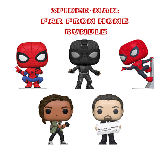 [PRE-ORDER] Bundle: Pop! Marvel - Spider-Man: Far From Home Bundle - Mom's Basement Collectibles