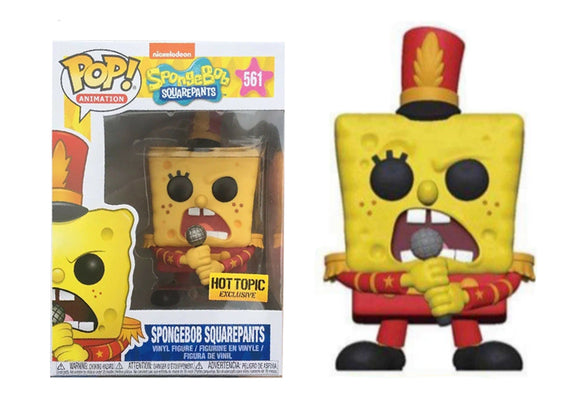 Pop! Animation: Spongebob Squarepants - Spongebob Squarepants [Band] (Hot Topic Exclusive) - Mom's Basement Collectibles