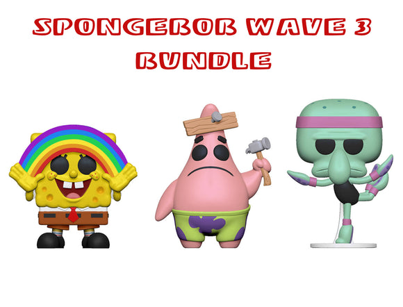 [PRE-ORDER] Bundle: Pop! Animation: Spongebob Squarepants Wave 3 - Mom's Basement Collectibles