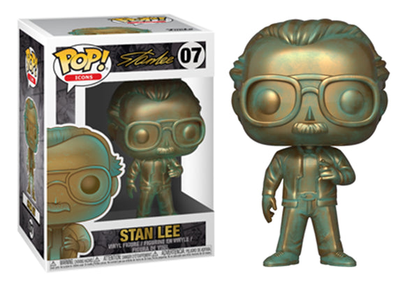 [PRE-ORDER] Pop! Icons - Stan Lee [Patina] - Mom's Basement Collectibles