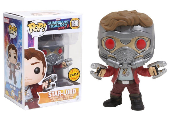 Pop! Marvel: Guardians of the Galaxy Vol. 2 - Star-Lord (Chase) - Mom's Basement Collectibles