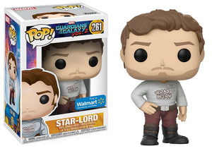 Pop! Marvel: Guardians of the Galaxy Vol. 2 - Star-Lord [Gear Shift Shirt] (Walmart Exclusive) - Mom's Basement Collectibles