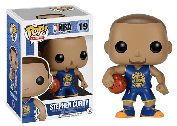Pop! NBA - Stephen Curry [Blue] - Mom's Basement Collectibles